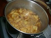 生姜スライスを煮詰めたところ2